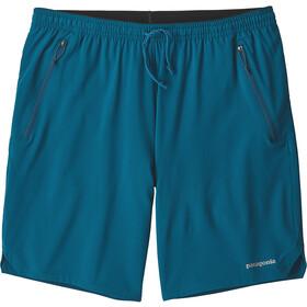 Patagonia M's Nine Trails Shorts Big Sur Blue